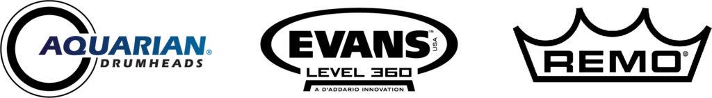 vividheads custom bass drum heads vintage logos. Black Bedroom Furniture Sets. Home Design Ideas